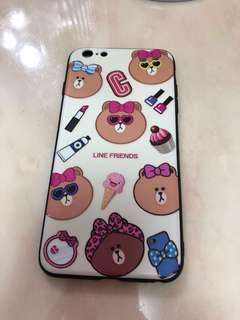 i phone 6 s plus case line friends choco