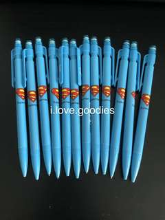 Superman mechanical pencils- youths, student goodies bag gift