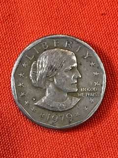 US Dollar Coin - 1979 P Susan B Anthony