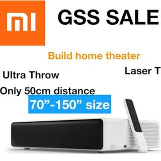 World Cup (Ready Stock) Coupon Promo Xiaomi Laser TV Mi projector Up to 150inches