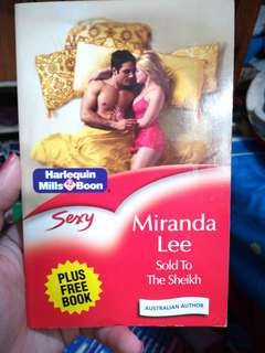 Mills and Boon Sold to the Sheikh