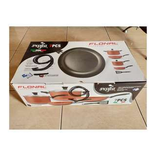 Flonal Cookware Pepita Set 7 Pcs