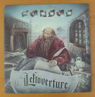 "Vinyl LP: Kansas ""Leftoverture"" *the band's most popular album"