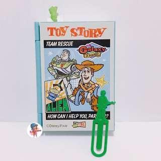 迪士尼 toystory 胡迪 巴斯 綠兵 食玩