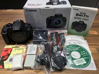 🚚 曙光數位 Canon 700D Body 單機身 / 配件全