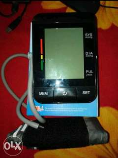 Blood Pressure and Heart Rate Monitor