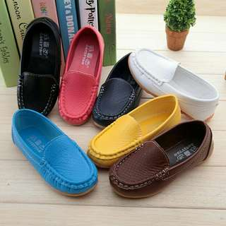 🍀Baby Kids Soft PU Leather Sneakers🍀