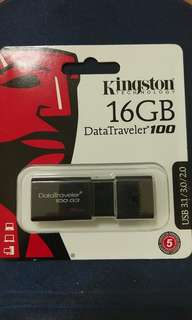 🚚 送咖啡 Kingstone 16 USB3 隨身碟 DataTraveler 非 創見 威剛