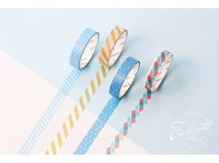 4-in-1 Design Themed Washi Tape #269