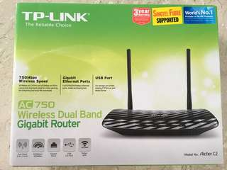 TP-LINK Wireless Dual Band Gigabit Router