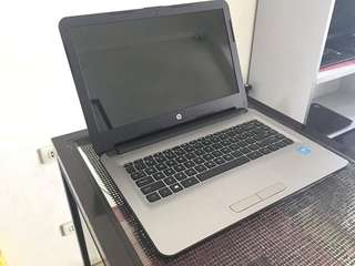 HP Notebook 14inch Intel N3060 500gb 4gbram