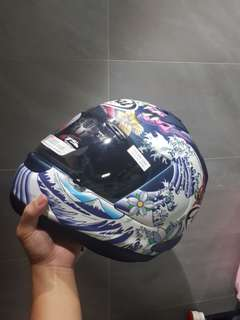 Authentic Arai Oriental Matt Blue ASTRO IQ
