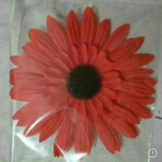 Artificial Flowers Hair Clips