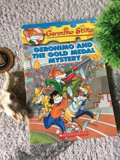 Geronimo Stilton -Geronimo and The Gold Medal Mystery