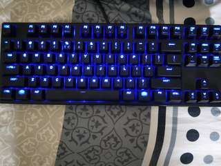 Ducky One Blue Led Brown Cherry switch tenkeyless mechanical keyboard