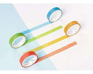 Colourful Themed 4-in-1 Washi Tape #275