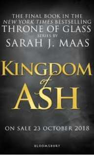 (Ebook) Kingdom of Ash ( Throne of glass #7) by Sarah J.Maas