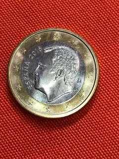 1 Euro Dollar 2016