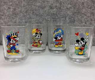 Disney Mickey Mouse Glasses 米奇老鼠紀念玻璃杯