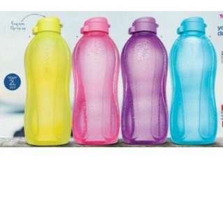 1L and 2L ECO BOTTLE TUPPERWARE
