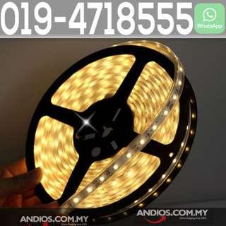 In-Stock✔5M 5050SMD 300 LED Strip Light Underwater pool 12V IP68 Waterproof Warm White