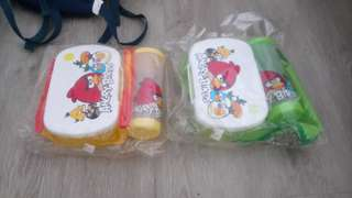 Angry bird lunch box