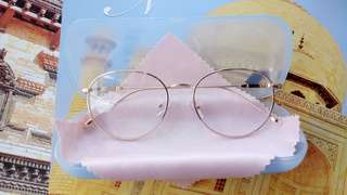 Women and Men- BRAND NEW Optical Eyeglasses Frames                                     *PTR 01: Gold Eyewear