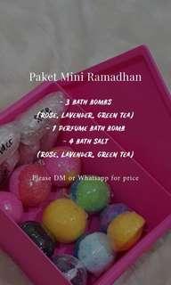 Paket Mini Ramadhan Bath Bomb