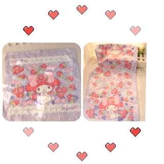 日本Melody 方形毛巾/浴巾 35*35cm/35*75cm 📮包郵