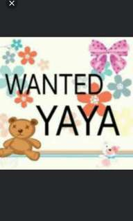 Looking for stay in  Yaya/kasambahay