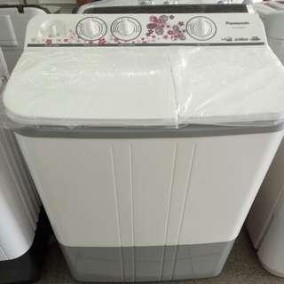 Panasonic mesin cuci 2 tabung bisa