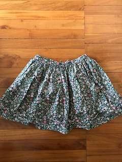 Next skirt free size utk 5-7 thn