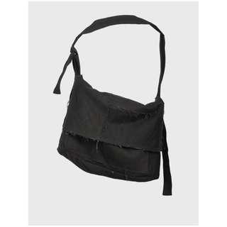 (收)ReLAB by Professor. E - Patchwork Shoulder Bag (Black)