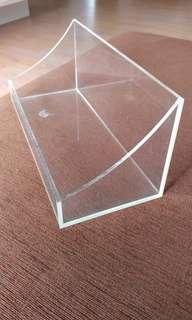 Display transparent  unit