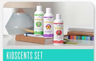 DISCOUNTED Set KidScents Bath Gel + Shampoo + Lotion