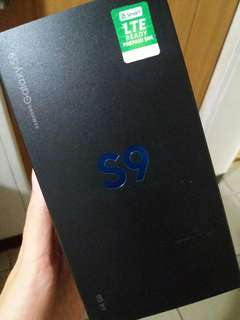 Samsung s9 Brand New- Sealed. From Samsung Store