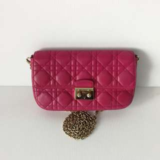 Authentic Dior Promenade Crossbody Clutch Bag