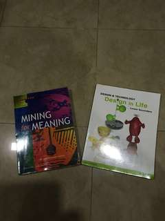 Lower Secondary School Textbooks (2 for $7)