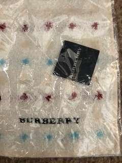 Burberry 正品 毛巾仔 全新未拆
