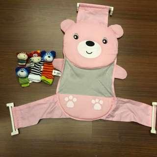 Baby Fun Socks & Bath Support