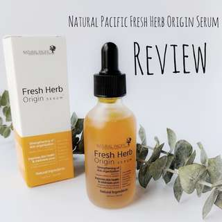 SOLD - Natural Pacific Serum