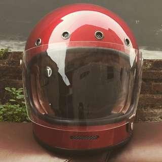 Helmet Vintage Cafe Racer