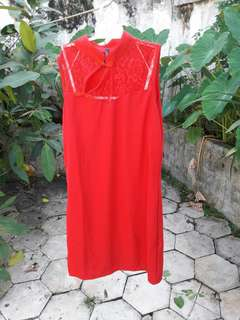 Dress Merah Cavalier