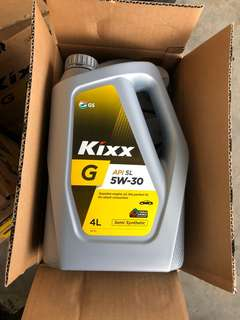 Engine Oil kixx semi synetic
