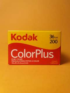 Roll film Kodak color plus fresh