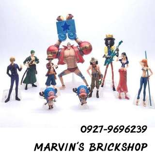 For Sale ONE PIECE Collectible Figures 10 pcs Included