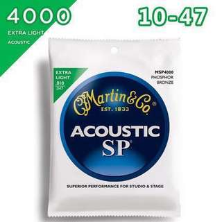 🚚 Original Martin Acoustic Strings Extra Light Free shipping