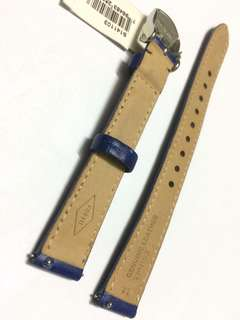 [PRICE REDUCED] - Fossil Watch Strap Navy Blue