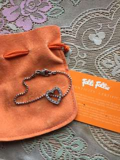 Folli Follie heart shaped bracelet