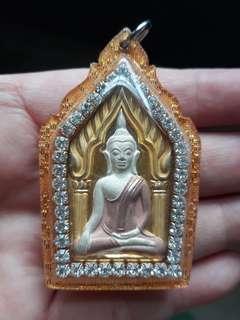 Thai amulet Wat Pailom Lp Poon Khun Paen Be2548